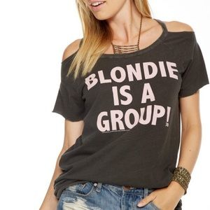 Chaser Blondie Cold Shoulder Tee
